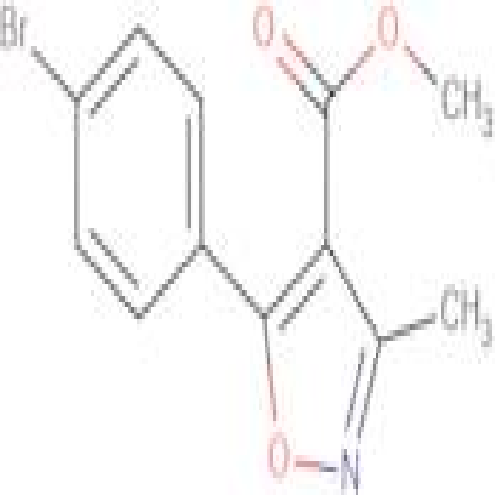 5-(4-Bromo-phenyl)-3-methyl-isoxazole-4-carboxylic acid methyl ester