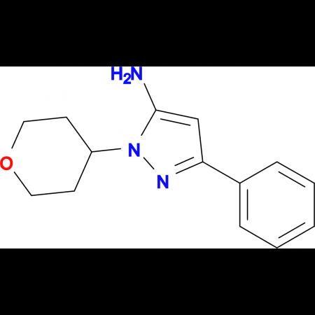 5-Phenyl-2-(tetrahydropyran-4-yl)-2H-pyrazol-3-ylamine