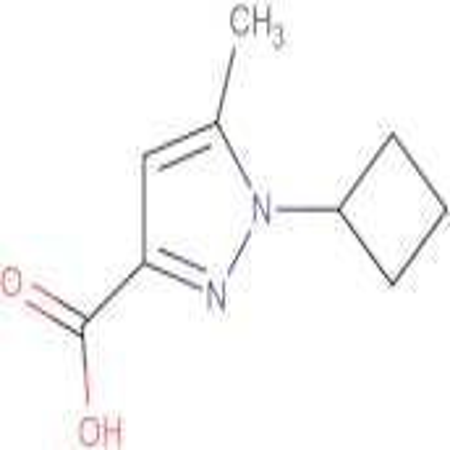 1-Cyclobutyl-5-methyl-1H-pyrazole-3-carboxylic acid