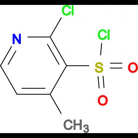 2-Chloro-4-methyl-pyridine-3-sulfonyl chloride