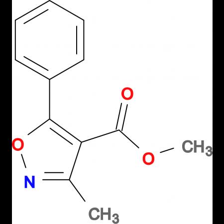 3-Methyl-5-phenyl-isoxazole-4-carboxylic acid methy ester