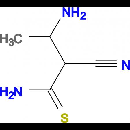 3-Amino-2-cyano-thiobutyramide