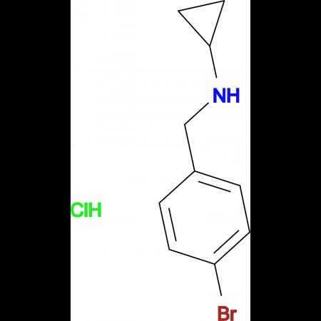 (4-Bromobenzyl)cyclopropylamine hydrochloride