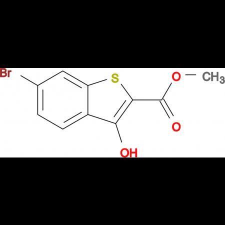 6-Bromo-3-hydroxy-benzo[b]thiophene-2-carboxylic acid methyl ester