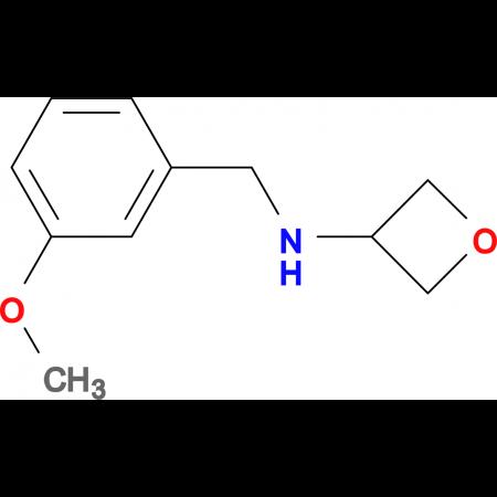 N-(3-Methoxybenzyl)oxetan-3-amine