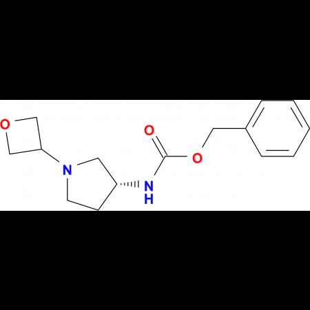 (R)-Benzyl 1-(oxetan-3-yl)pyrrolidin-3-ylcarbamate