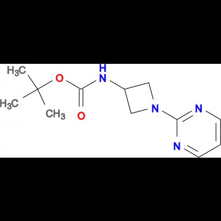 tert-Butyl N-[1-(pyrimidin-2-yl)azetidin-3-yl]carbamate