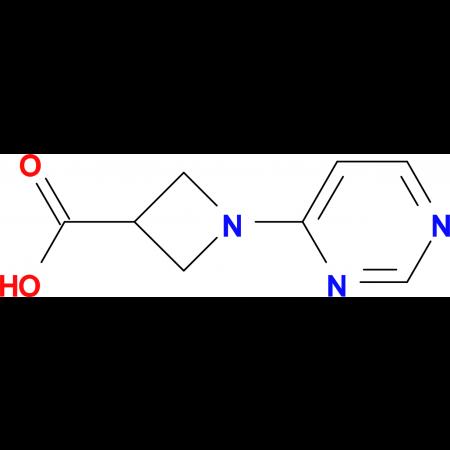 1-(Pyrimidin-4-yl)azetidine-3-carboxylic acid