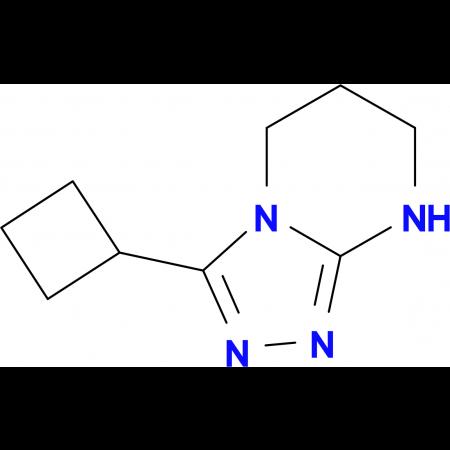 3-Cyclobutyl-5H,6H,7H,8H-[1,2,4]-triazolo[4,3-a]pyrimidine