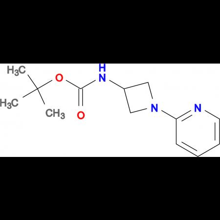 tert-Butyl N-[1-(pyridin-2-yl)azetidin-3-yl]-carbamate