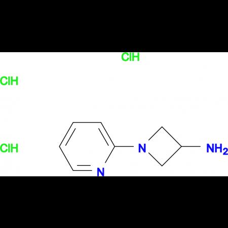1-(Pyridin-2-yl)azetidin-3-amine trihydrochloride
