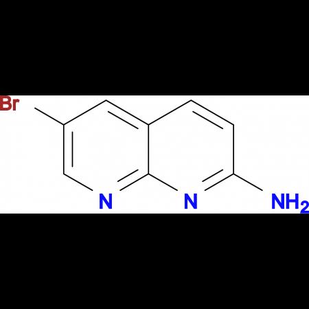 2-Amino-6-bromo-1,8-naphthyridine