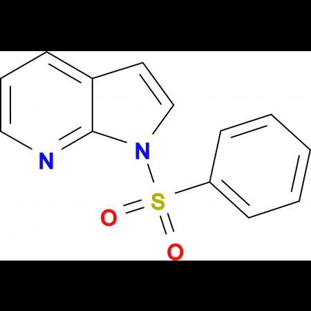 1-(phenylsulfonyl)-1H-pyrrolo[2,3-b]pyridine