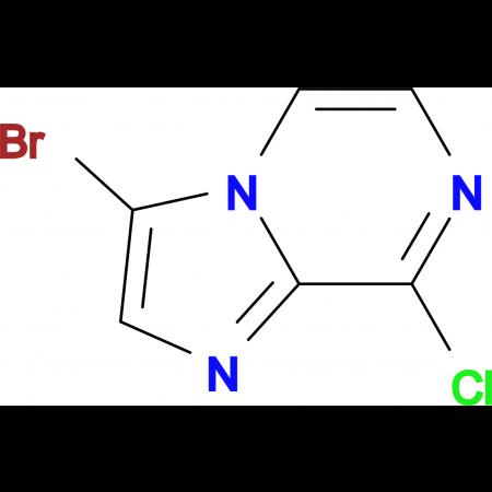 3-Bromo-8-chloroimidazo[1,2-a]pyrazine