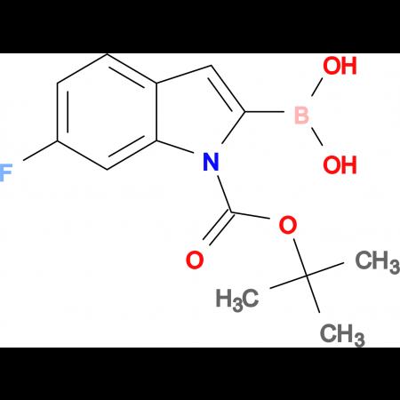 1-Boc-6-Fluoro-1H-indole-2-boronic acid
