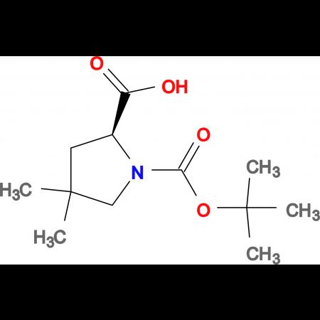 (S)-1-(tert-Butoxycarbonyl)-4,4-dimethylpyrrolidine-2-carboxylic acid