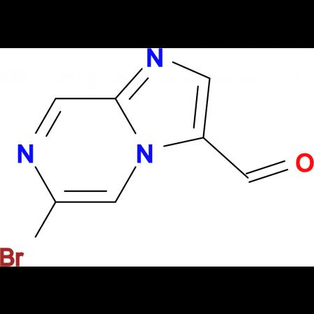 6-Bromoimidazo[1,2-a]pyrazine-3-carbaldehyde