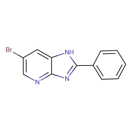 6-Bromo-2-phenyl-1H-imidazo[4,5-b]pyridine