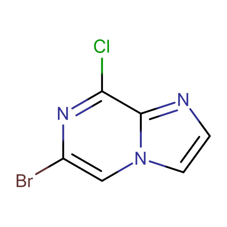 6-Bromo-8-chloroimidazo[1,2-a]pyrazine