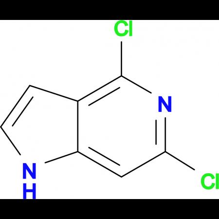 4,6-Dichloro-1H-pyrrolo[3,2-c]pyridine