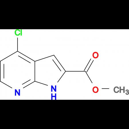Methyl 4-chloro-1H-pyrrolo[2,3-b]pyridine-2-carboxylate