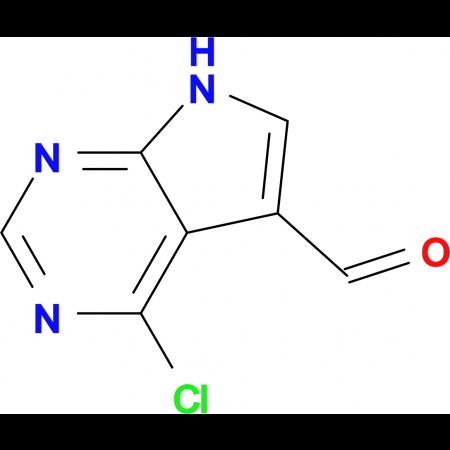 4-Chloro-7H-pyrrolo[2,3-d]pyrimidine-5-carbaldehyde