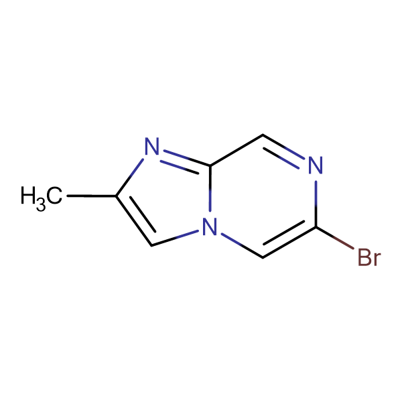 6-Bromo-2-methylimidazo[1,2-a]pyrazine