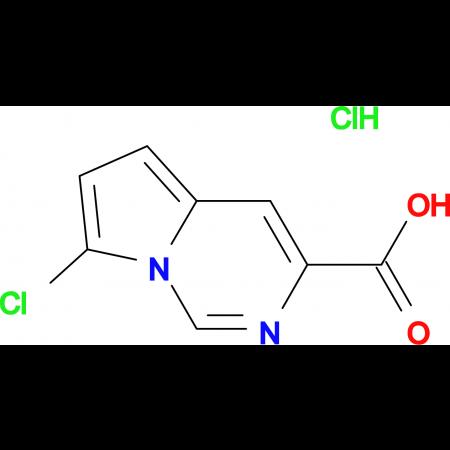 7-Chloropyrrolo[1,2-c]pyrimidine-3-carboxylic acid hydrochloride