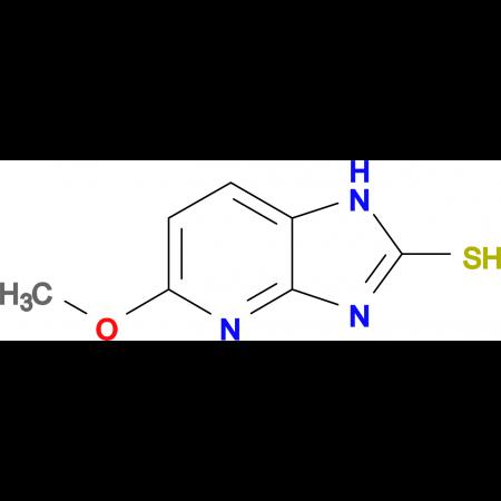 2-Mercapto-5-methoxyimidazole[4,5-b]pyridine