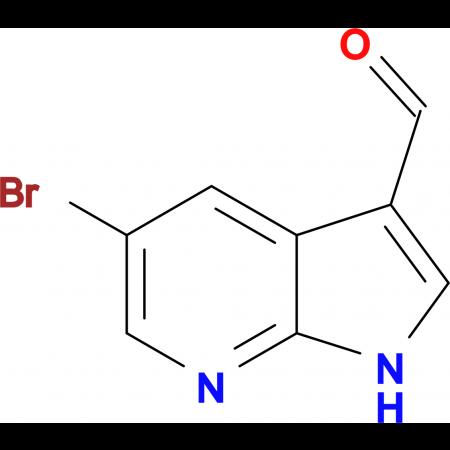 5-Bromo-1H-pyrrolo[2,3-b]pyridine-3-carbaldehyde
