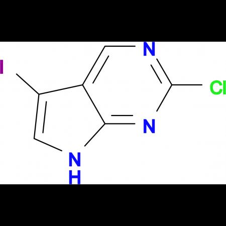 2-Chloro-5-iodo-7H-pyrrolo[2,3-d]pyrimidine