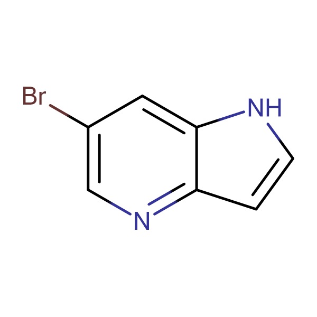 6-Bromo-1H-pyrrolo[3,2-b]pyridine