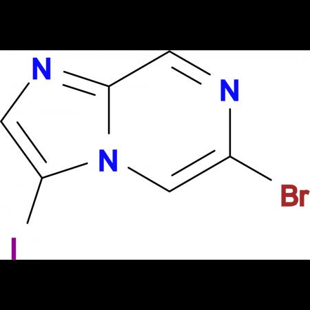 6-Bromo-3-iodoimidazo[1,2-a]pyrazine