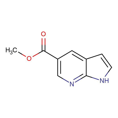 1H-Pyrrolo[2,3-b]pyridine-5-carboxylic acid methyl ester