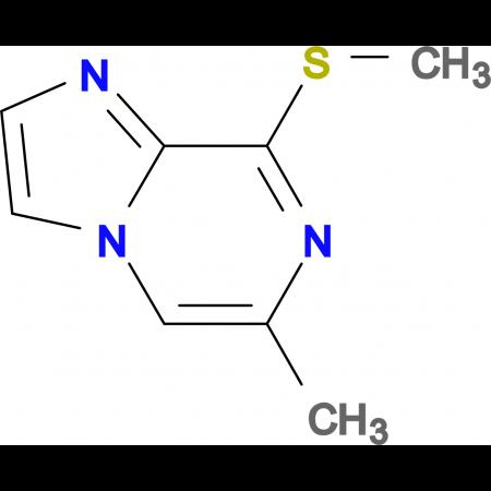 6-Methyl-8-methylsulfanyl-imidazo[1,2-a]pyrazine
