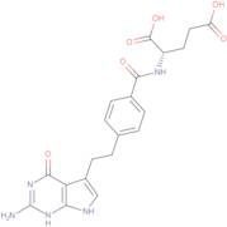 (S)-2-(4-(2-(2-Amino-4-oxo-4,7-dihydro-1H-pyrrolo[2,3-d]pyrimidin-5-yl)ethyl)benzamido)pentanedioic acid