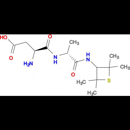 (S)-3-Amino-4-oxo-4-(((R)-1-oxo-1-((2,2,4,4-tetramethylthietan-3-yl)amino)propan-2-yl)amino)butanoic acid