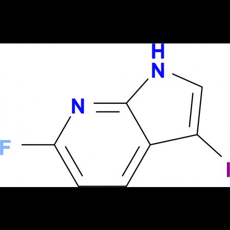 6-Fluoro-3-iodo-1H-pyrrolo[2,3-b]pyridine