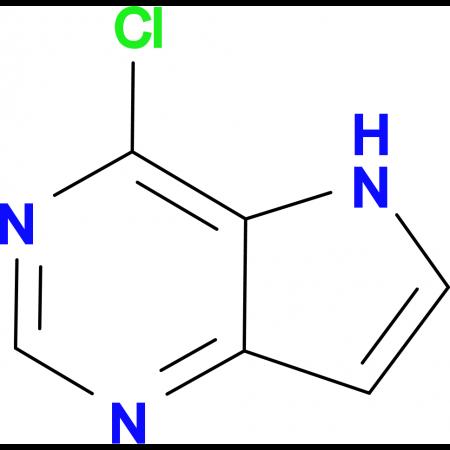 4-Chloro-5H-pyrrolo[3,2-d]pyrimidine