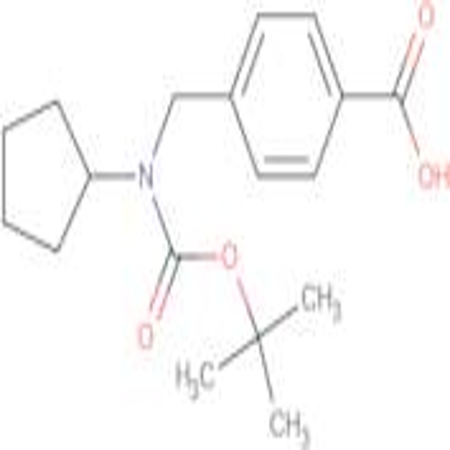 4-[(tert-Butoxycarbonyl-cyclopentylamino)-methyl]-benzoic acid