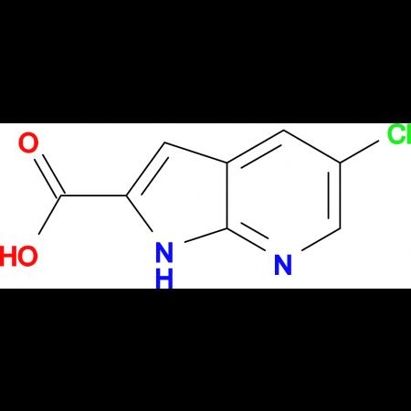 5-Chloro-1H-pyrrolo[2,3-b]pyridine-2-carboxylic acid