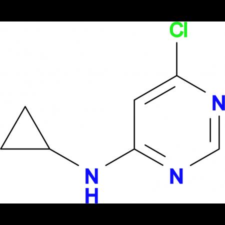 (6-Chloro-pyrimidin-4-yl)-cyclopropyl-amine