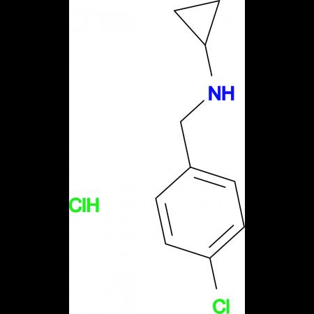 (4-Chloro-benzyl)-cyclopropyl-amine hydrochloride