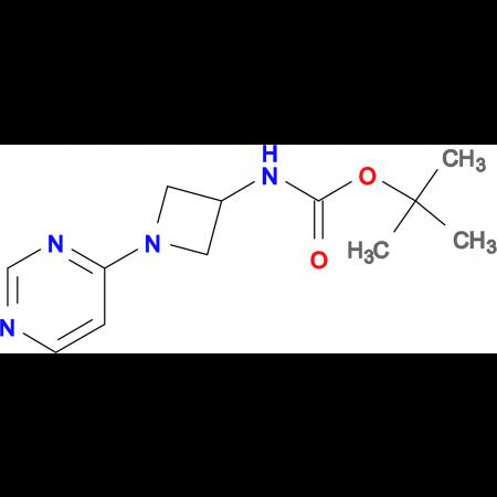 tert-Butyl N-[1-(pyrimidin-4-yl)azetidin-3-yl]carbamate