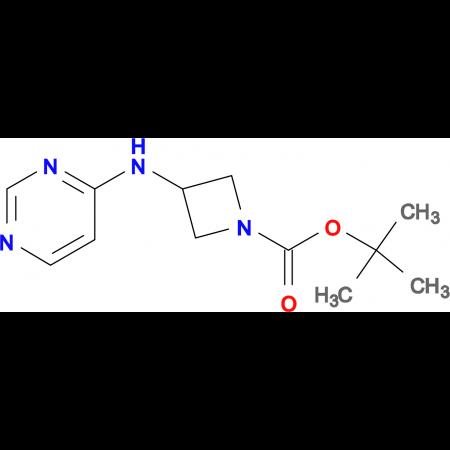 tert-Butyl 3-(pyrimidin-4-ylamino)azetidine-1-carboxylate