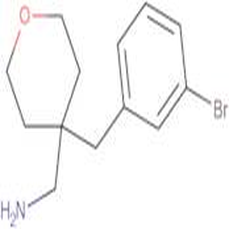 4-[(3-Bromophenyl)methyl]oxan-4-ylmethanamine