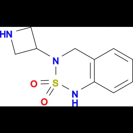 3-(Azetidin-3-yl)-3,4-dihydro-1H-2lambda(6),1,3-benzothiadiazine-2,2-dione