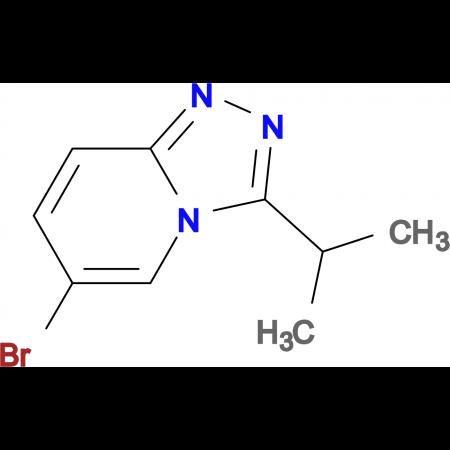6-Bromo-3-(propan-2-yl)-[1,2,4]triazolo[4,3-a]pyridine
