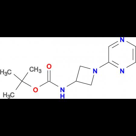 tert-Butyl N-[1-(pyrazin-2-yl)azetidin-3-yl]carbamate