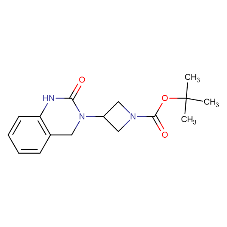 tert-Butyl 3-(2-oxo-1,2,3,4-tetrahydroquinazolin-3-yl)azetidine-1-carboxylate